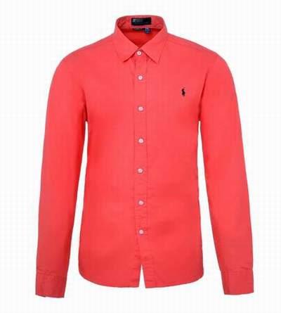 chemises blanches ralph lauren,chemise de marque anglaise,chemise homme  rouge coupe droite 4c46de5a5821